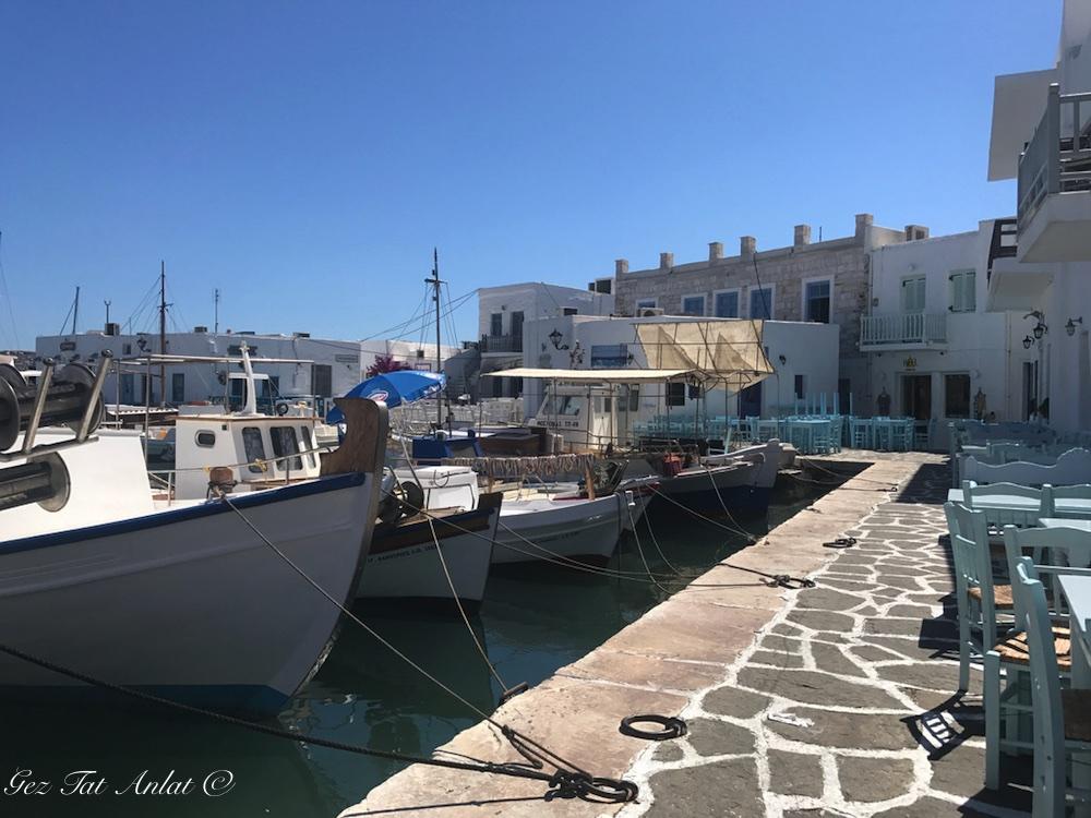 Nausa (Naousa) Köyü – Paros