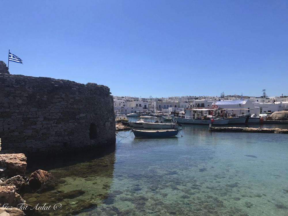 Nausa (Naousa) Köyü - Paros
