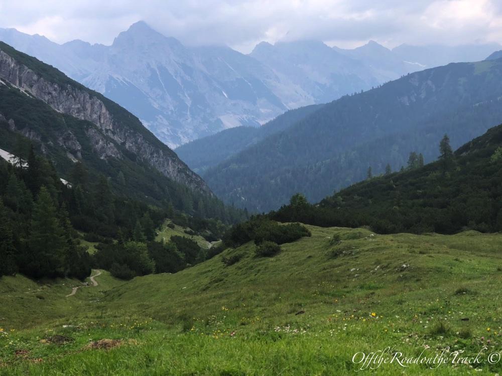 Avusturya 1805 metrede manzara