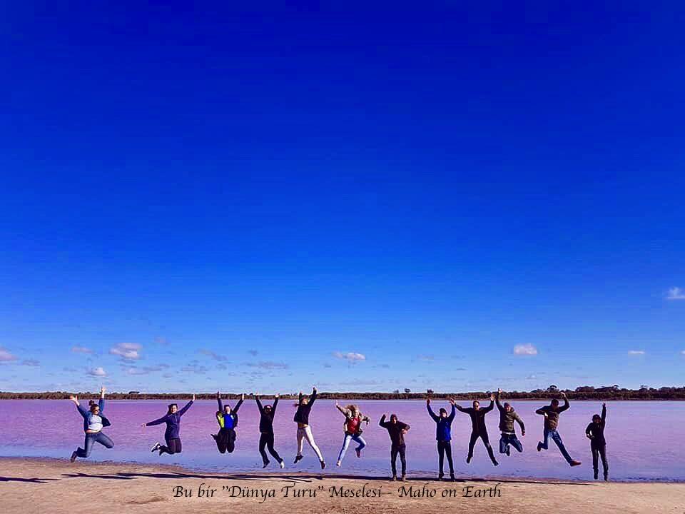 Pink Lake Avustralya